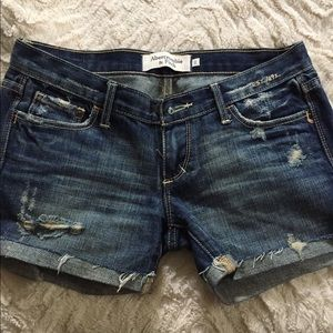 Sold! Abercrombie Distressed Shorts